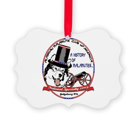 2009 National Specialty Logo Picture Ornament