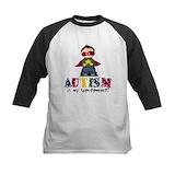 Superhero autism Baseball Jersey