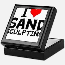 I Love Sand Sculpting Keepsake Box