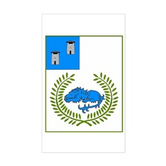 Canton of the Towers Rectangle Decal