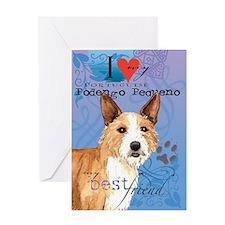 Portuguese Podengo Pequeno Greeting Card