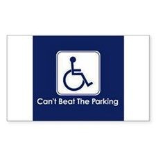 Can't Beat the Parking Decal