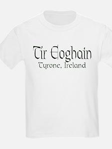 County Tyrone (Gaelic) Kids T-Shirt
