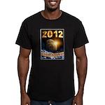 APOCALYPSE SURVIVOR Men's Fitted T-Shirt (dark)