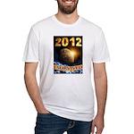 APOCALYPSE SURVIVOR Fitted T-Shirt