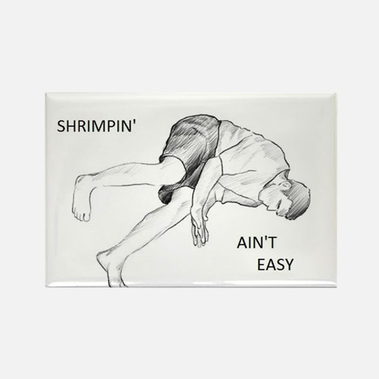 Brazilian Jiu Jitsu Shrimping Ain't Easy Rectangle
