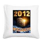 APOCALYPSE SURVIVOR Square Canvas Pillow