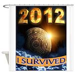 APOCALYPSE SURVIVOR Shower Curtain