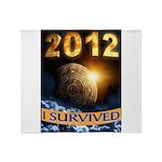 APOCALYPSE SURVIVOR Throw Blanket