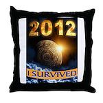 APOCALYPSE SURVIVOR Throw Pillow