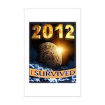 APOCALYPSE SURVIVOR Mini Poster Print