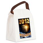 APOCALYPSE SURVIVOR Canvas Lunch Bag