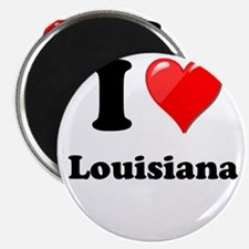 "I Heart Love Louisiana.png 2.25"" Magnet (10 pack)"