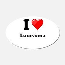 I Heart Love Louisiana.png Wall Decal