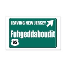 New Jersey Car Magnet 20 x 12