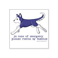 emergency 1 Sticker