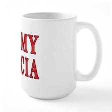 I Heart My Babcia Mug