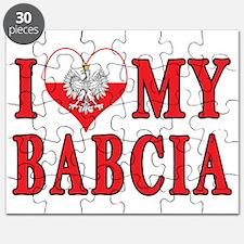 I Heart My Babcia Puzzle