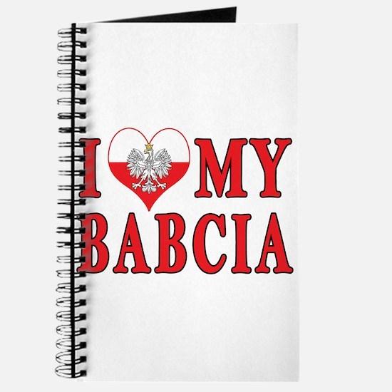 I Heart My Babcia Journal