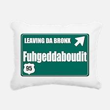 The Bronx Rectangular Canvas Pillow