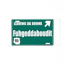 The Bronx Aluminum License Plate