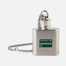 Brooklyn Flask Necklace