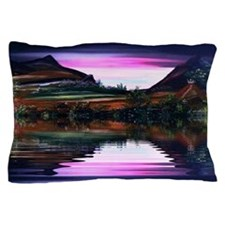 Native American The View Pillow Case