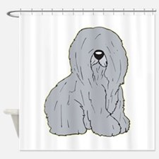 old-eng-sheep.png Shower Curtain