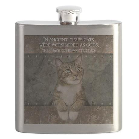 Ancient Cat Flask