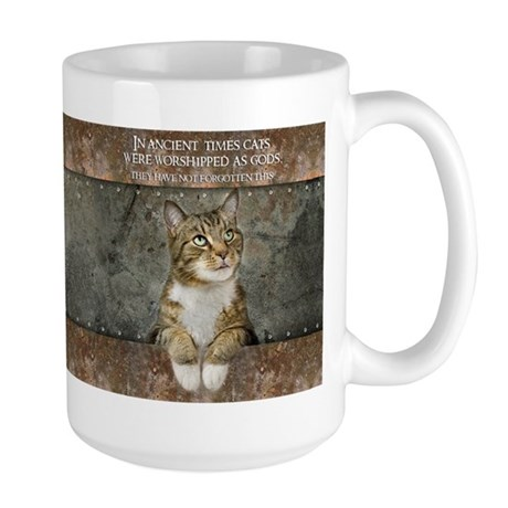 Ancient Cat Large Mug