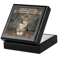 Ancient Cat Keepsake Box