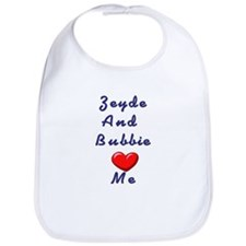 Zeidy and Bubbie Love Me Bib