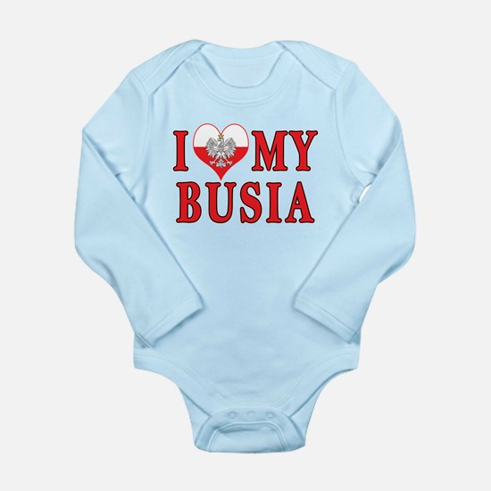 I Heart My Busia Onesie Romper Suit
