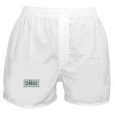 Jesus Fish - OMG Boxer Shorts