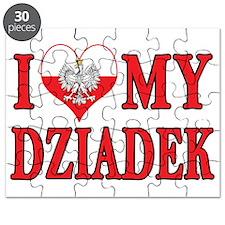 I Heart My Dziadek Puzzle