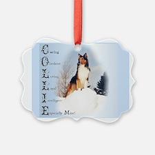 Rough Collie Ornament
