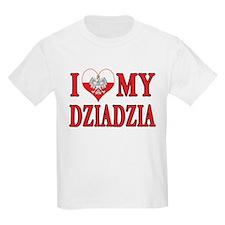 I Heart My Dziadzia T-Shirt