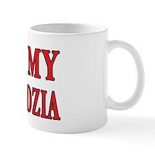 I Heart My Dziadzia Small Mugs