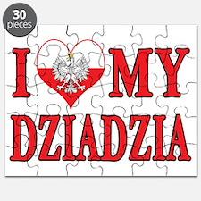 I Heart My Dziadzia Puzzle