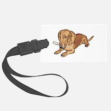 dachshund2.png Luggage Tag