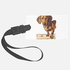 dachshund3.png Luggage Tag