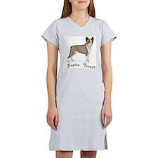3-boston terrier.jpg Women's Nightshirt