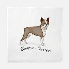 3-boston terrier.jpg Queen Duvet