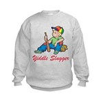 Yiddle Slugger Yidddish Kids Sweatshirt