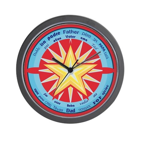 Best Father Wall Clock by mgirardshop
