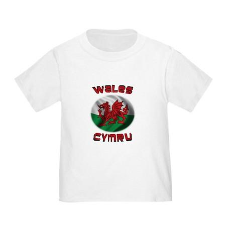 Wales Cymru Toddler T-Shirt