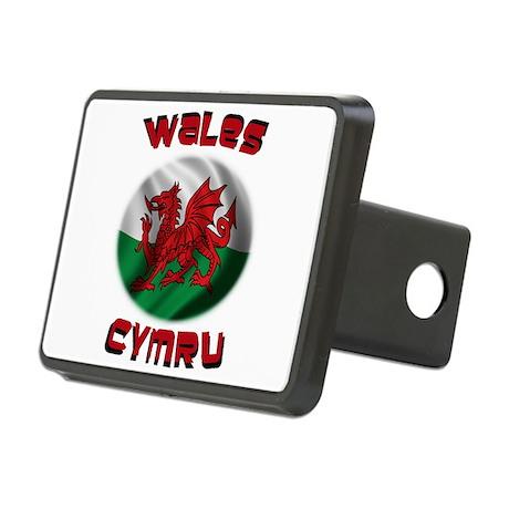 Wales Cymru Rectangular Hitch Cover