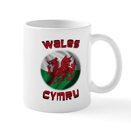 Wales Cymru Mug