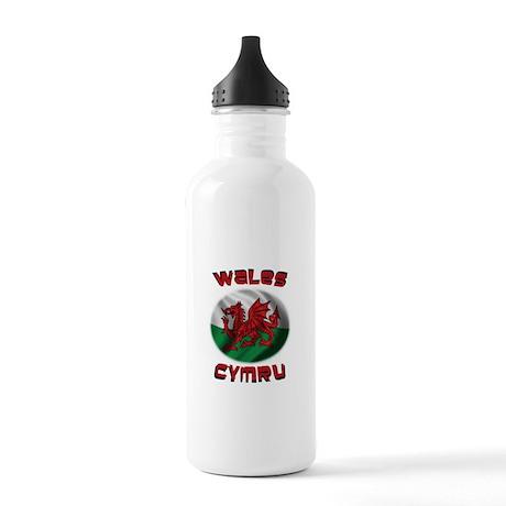 Wales Cymru Stainless Water Bottle 1.0L