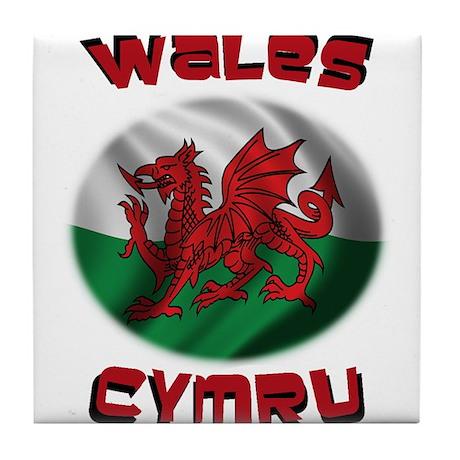 Wales Cymru Tile Coaster